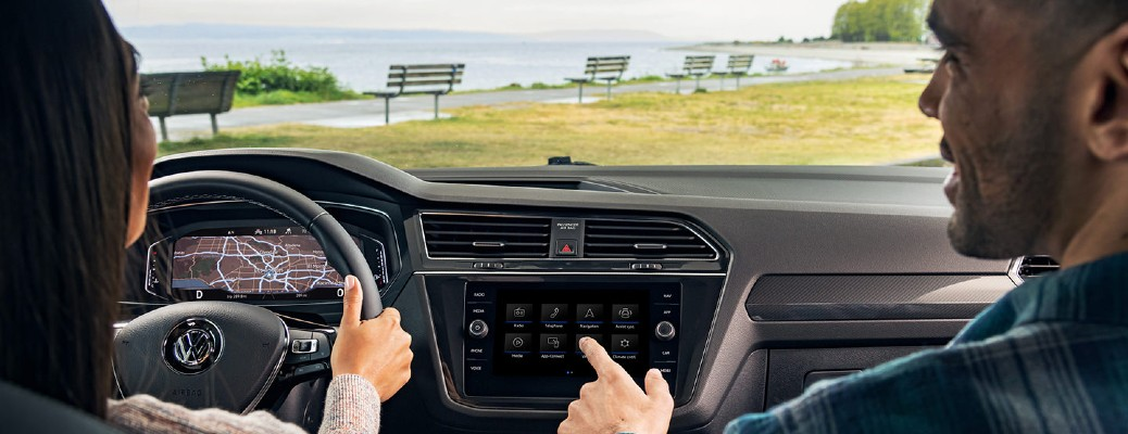 2021 Volkswagen Tiguan Infotainment Screen Features