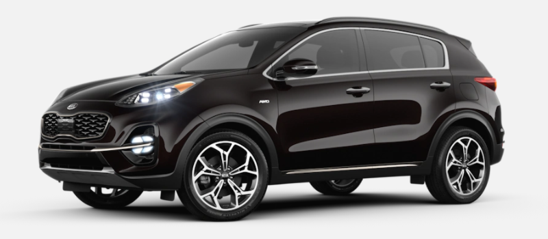2021 Kia Sportage Paint Color Options