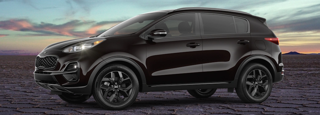 What S Included In The 2021 Kia Sportage Nightfall Edition