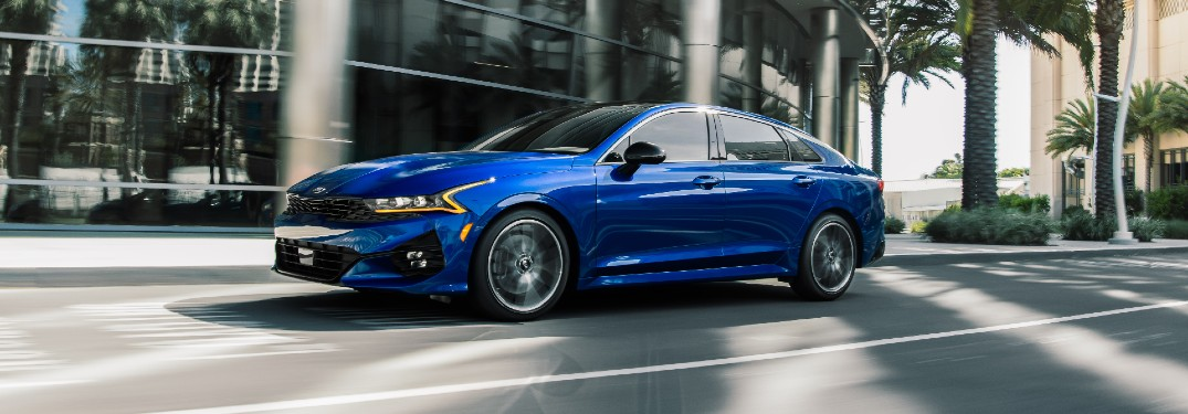 What's Included in the 2021 Kia K5 GT1 Package?