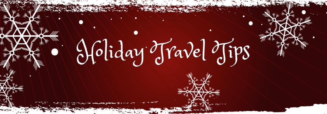 Check out these 5 tips for traveling this holiday season!