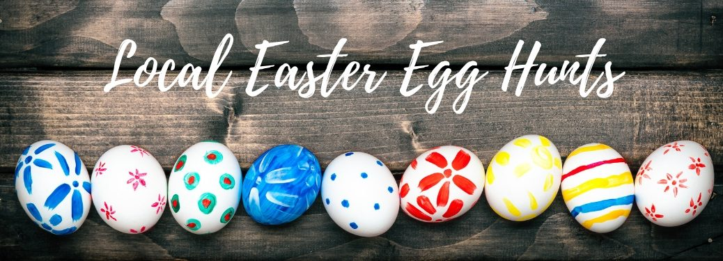 local easter egg hunts banner