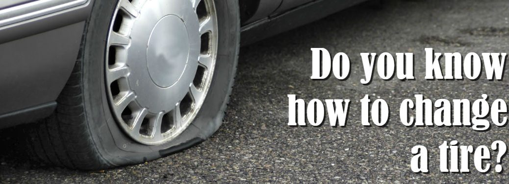 do you know how to change a tire banner
