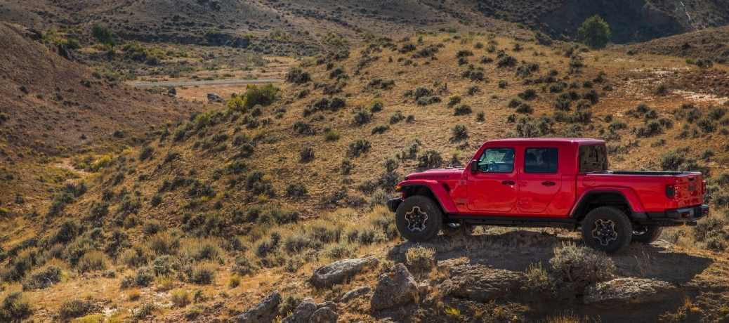 2021 Jeep Gladiator Exterior Driver Side Rear Profile