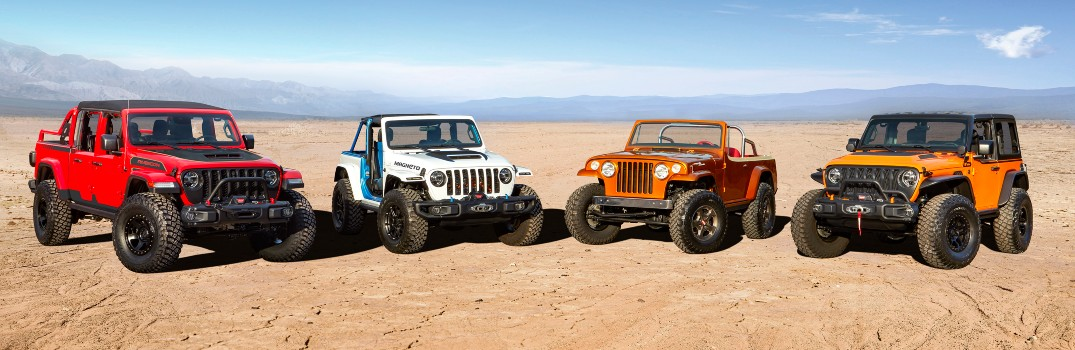 Check out these Concept Vehicles Debuted for the 2021 Easter Jeep Safari