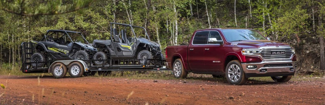 Helpful Tips for Towing with your RAM Pickup Truck