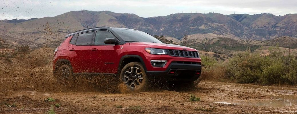 Side-view of the 2021 Jeep Compass