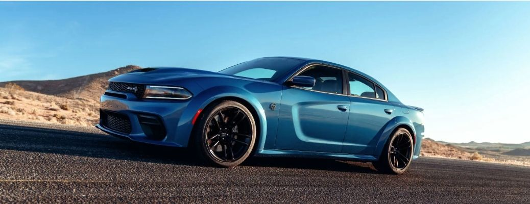 2021 Dodge Charger on road