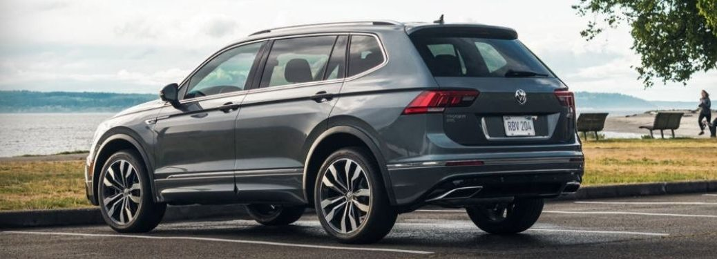 2021 Volkswagen Tiguan parked outside view