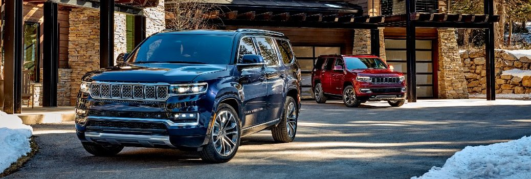 2022 Jeep Wagoneer & Grand Wagoneer Exterior Front Profiles