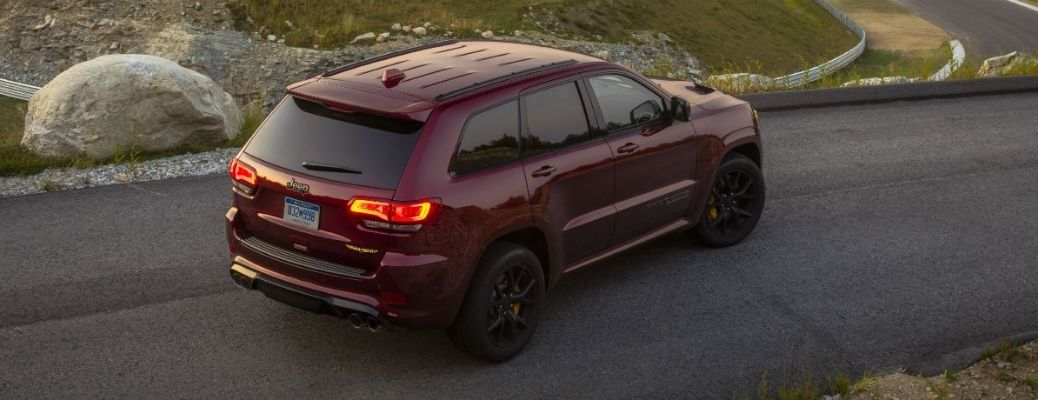 Back view of the 2021 Jeep Grand Cherokee