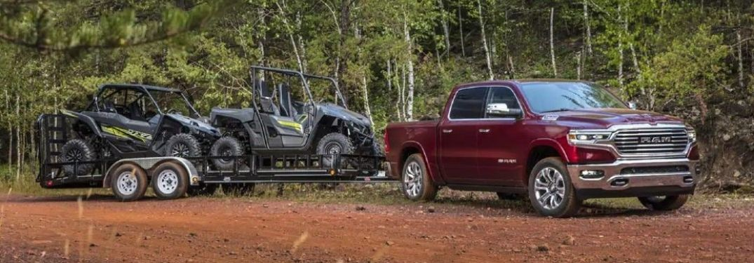 Which CDJR vehicles have the best towing for vacations in Fairbanks, AK?
