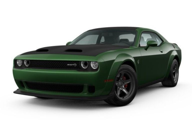 2021 Dodge Challenger exterior front fascia driver side F8 Green