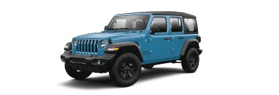 Chief  2021 Jeep Wrangler exterior front fascia driver side