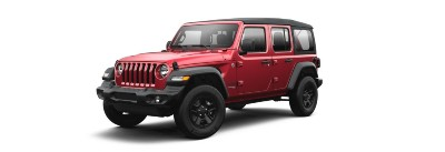 Snazzberry  2021 Jeep Wrangler exterior front fascia driver side