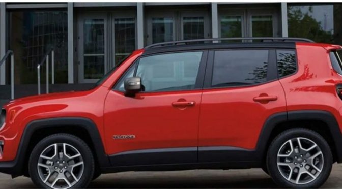 2021 Jeep Renegade exterior driver side profile