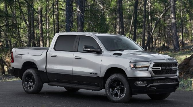 RAM 1500 BackCountry Edition Front Right-Quarter View
