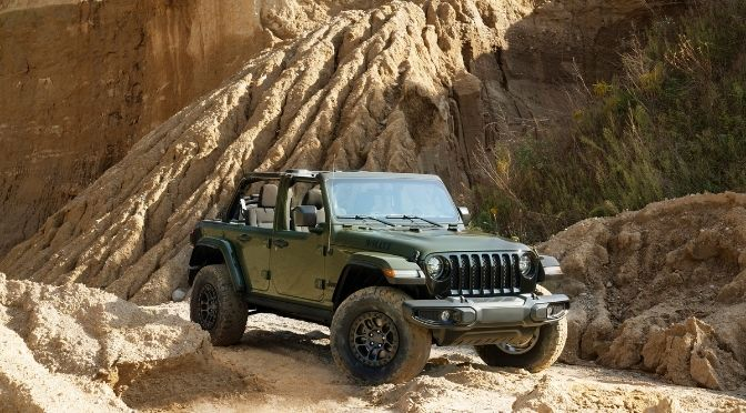 2022 Jeep Wrangler Willys Front Right-Quarter View