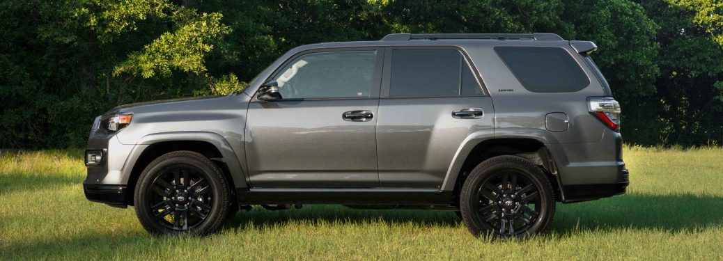 2019 Toyota 4Runner Nightshade side view