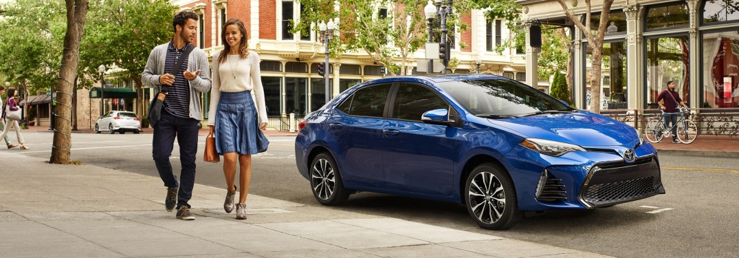What are the Corolla trim levels for 2019?
