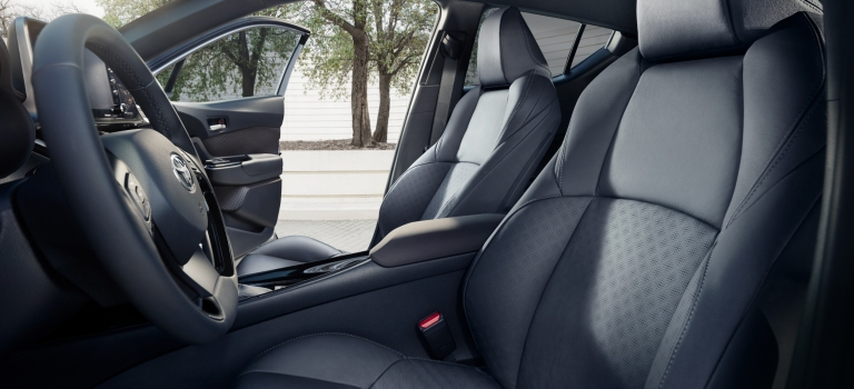 2019 Toyota C-HR leather front seats