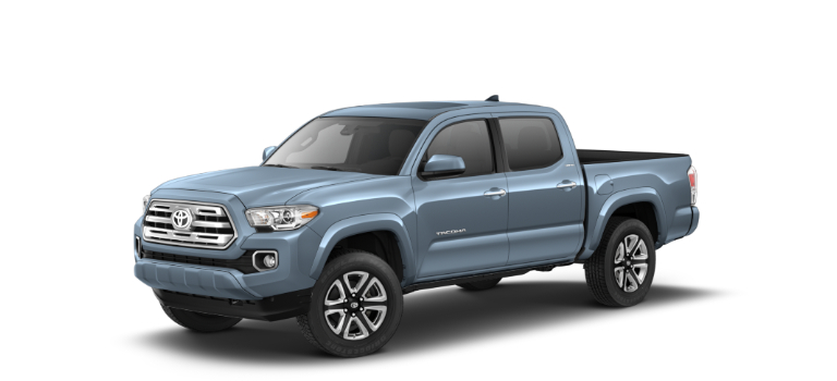 2019 Toyota Tacoma Cavalry Blue side view