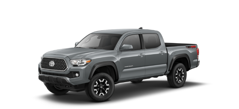 2019 Toyota Tacoma Cement side view