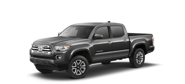 2019 Toyota Tacoma Magnetic Gray Metallic side view