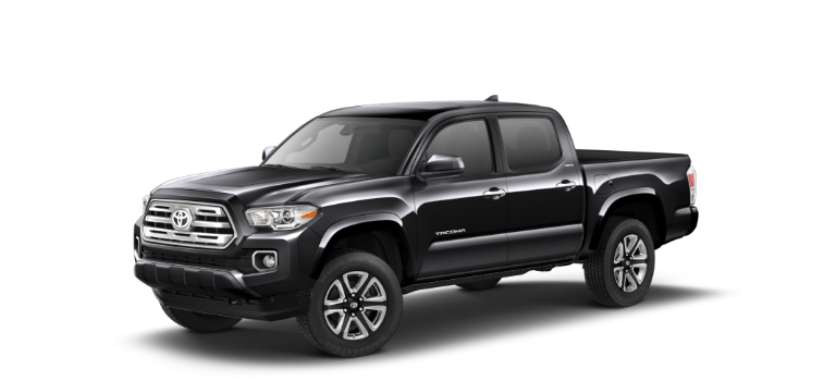 2019 Toyota Tacoma Midnight Black Metallic side view