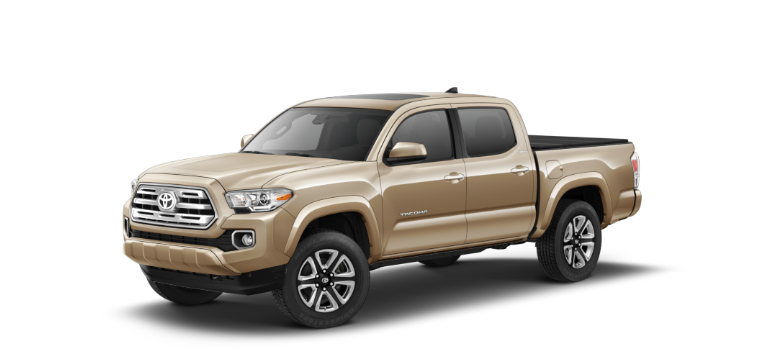 2019 Toyota Tacoma Quicksand side view
