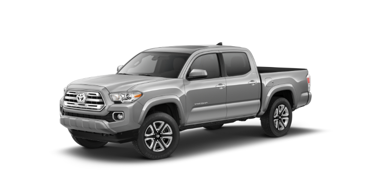 2019 Toyota Tacoma Silver Sky Metallic side view