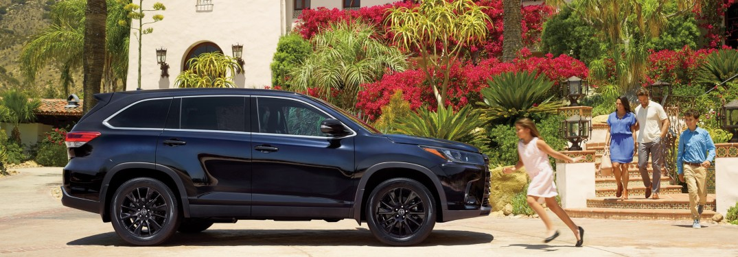 2019 Toyota Highlander Color Options Gallery