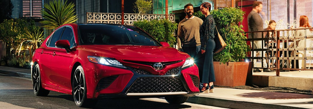 High-tech options for the latest Toyota Camry