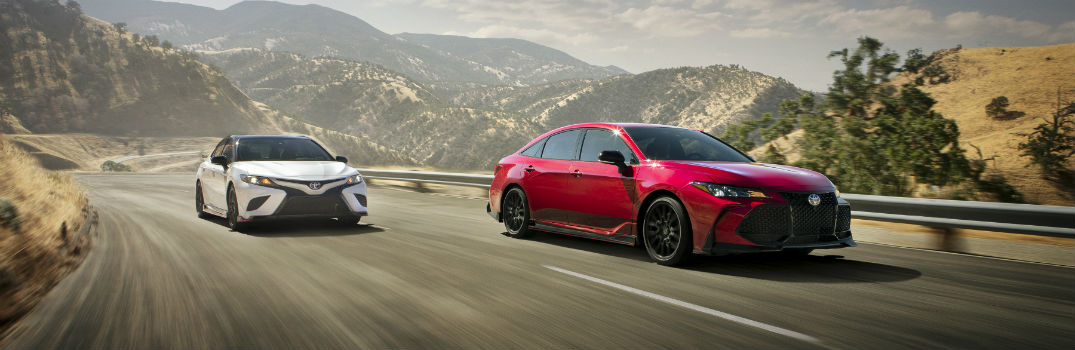 2020 Toyota Avalon & Camry Receive TRD Trim Levels