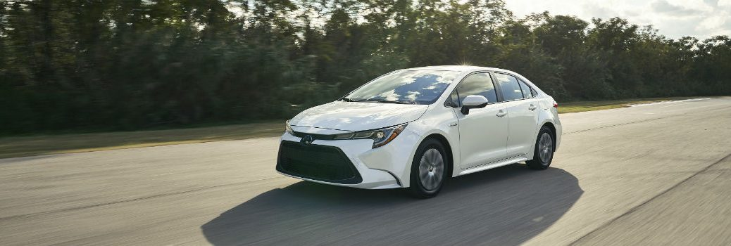 2020 Toyota Corolla Hybrid Exterior Driver Side Front Profile