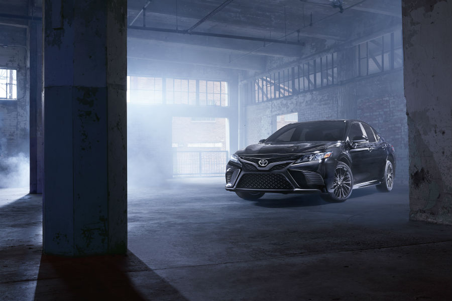 2019 Toyota Camry Nightshade Special Edition Exterior Driver Side Front Angle