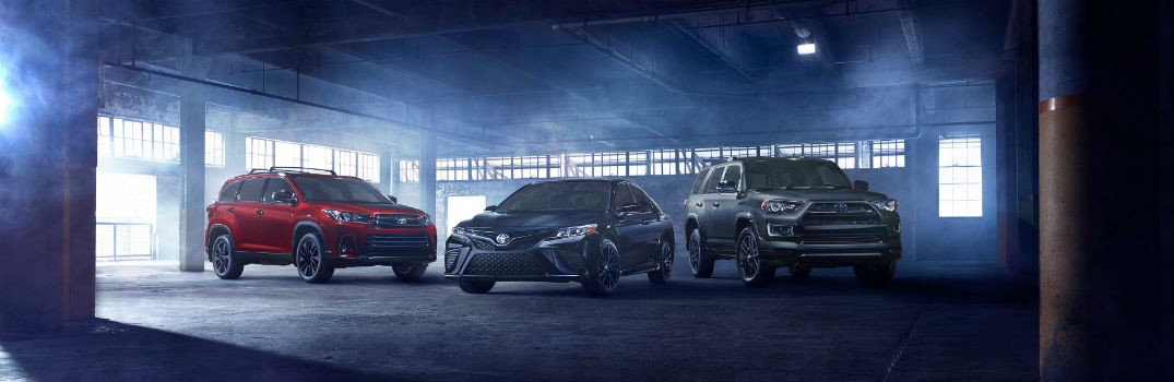 Which Toyota models will be offered with Nightshade Special Editions?