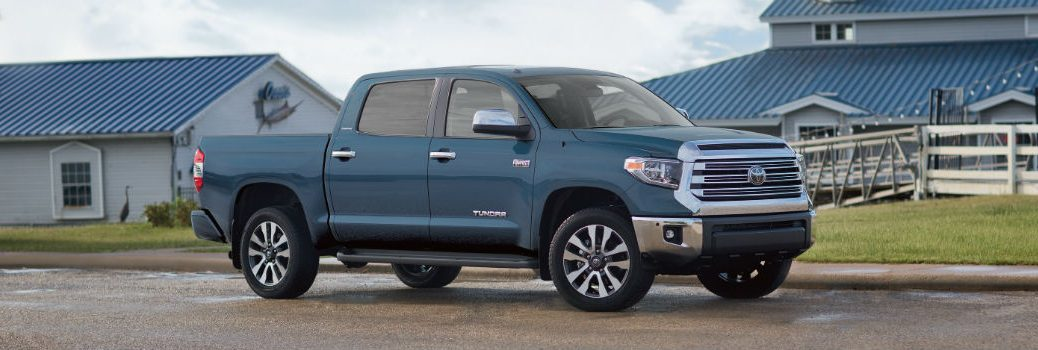 2019 Toyota Tundra Exterior Passenger Side Front Profile