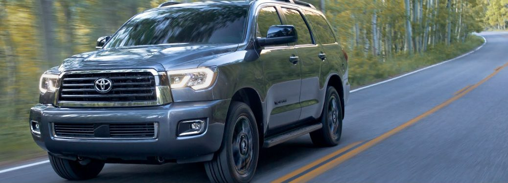 2019 Toyota Sequoia Exterior Driver Side Front Profile