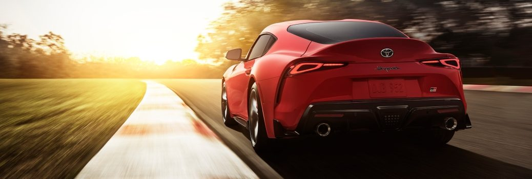 2020 Toyota Supra Exterior Driver Side Rear Angle