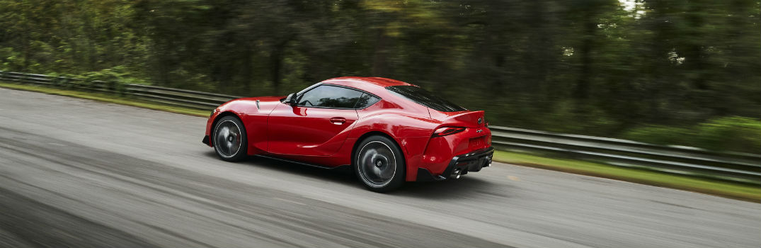 Pictures of the all-new 2020 Toyota Supra