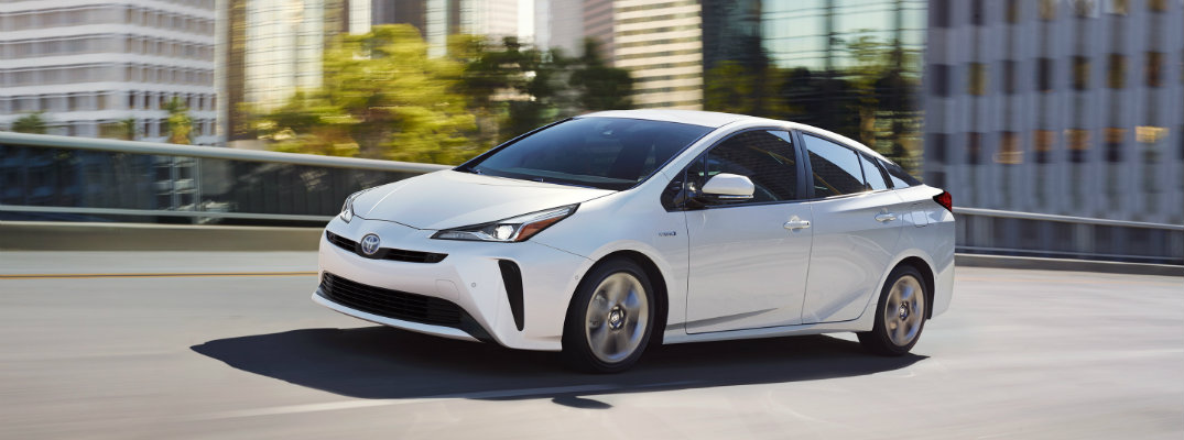 What are the Color Options for the 2019 Toyota Prius?