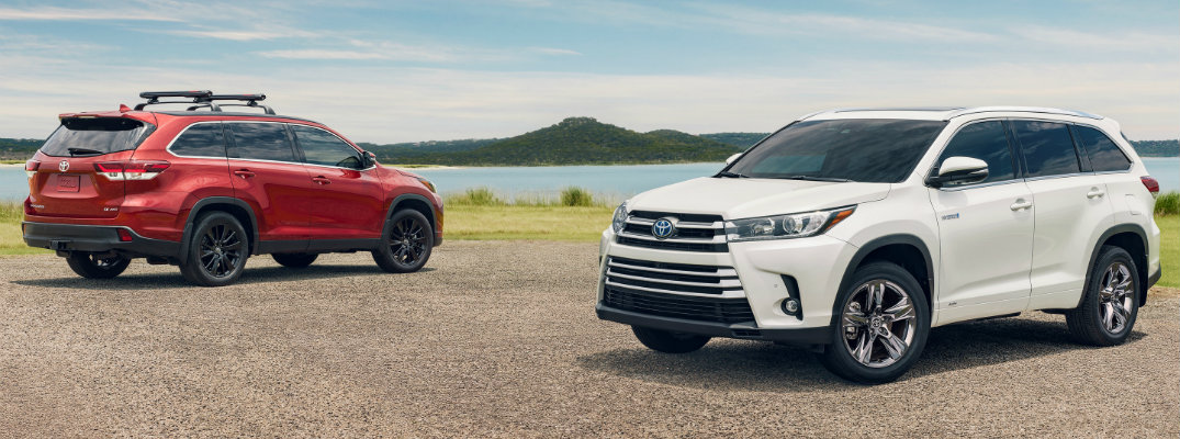 What's the Difference Between the 2019 Toyota Highlander vs Highlander Hybrid?