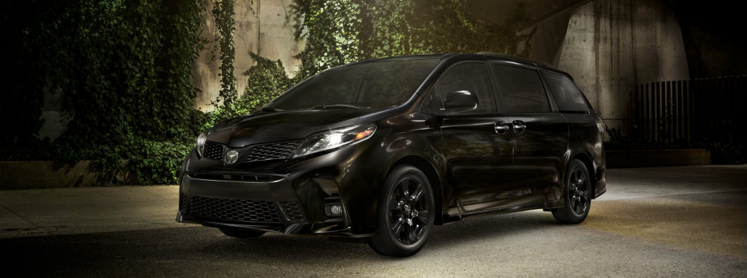 What are the Color Options for the 2020 Toyota Sienna?