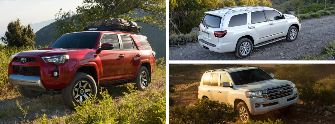 Is the 4Runner, Sequoia, or Land Cruiser the Better Adventure Vehicle?