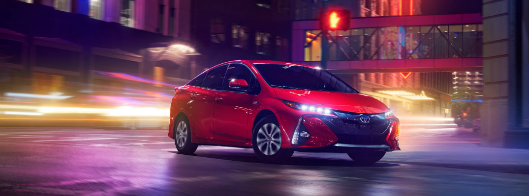 What are the Color Options for the 2020 Toyota Prius Prime?