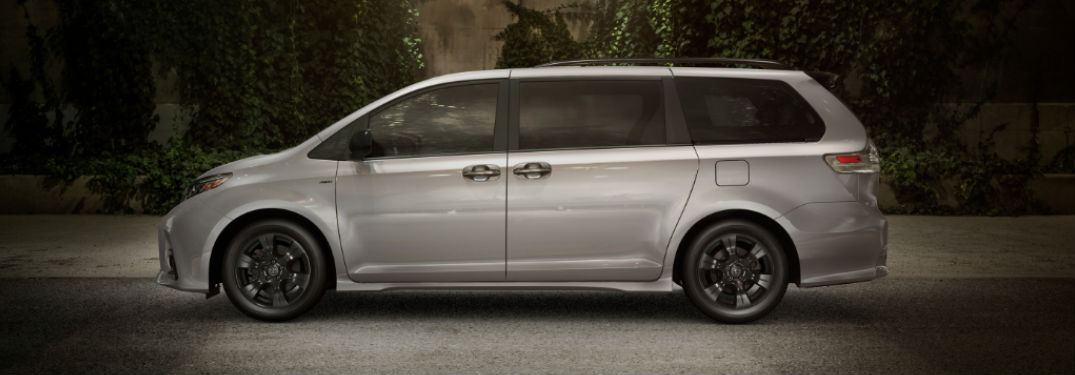 2020 toyota sienna legroom and cargo capacity 2020 toyota sienna legroom and cargo