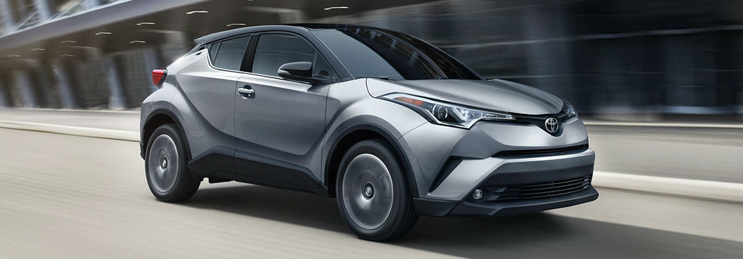 What colors are available on the Toyota C-HR?