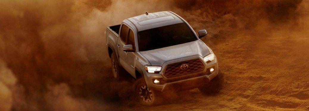 2020 Toyota Tacoma in gray