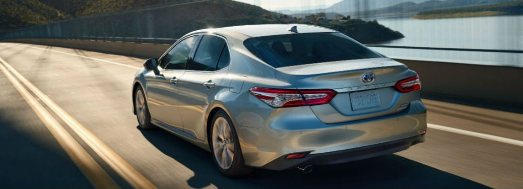 2020 Toyota Camry in gray